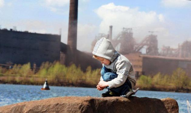 Загрязнение воздуха и дети