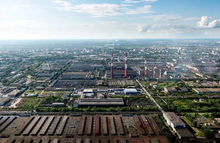 Промышленный комплекс Автозаводского районы Нижнего Новгорода