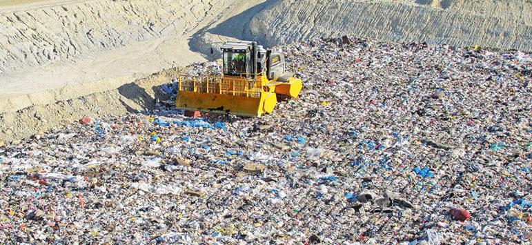 Полигон утилизации промышленных отходов